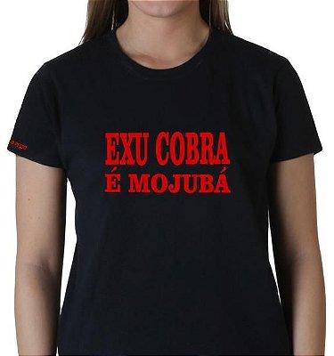 Camiseta Exu Cobra é Mojubá