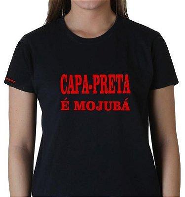 Camiseta Capa Preta é Mojubá