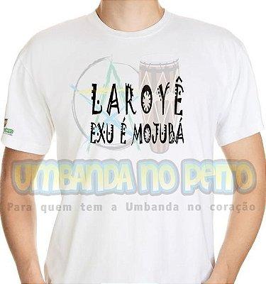 Camiseta Laroyê Exu, Laroyê