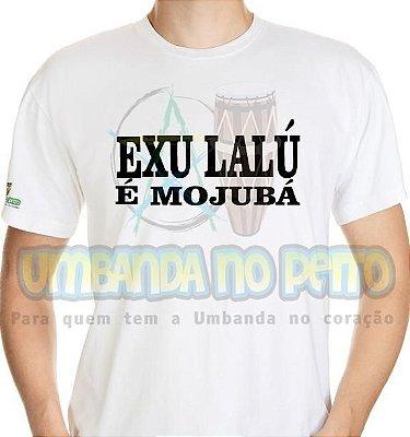 Camiseta Exu Lalú é Mojubá