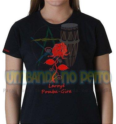 Camiseta Preta Laroyê (Algodão)