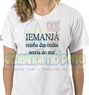 Camiseta Rainha das Ondas, Sereia do Mar