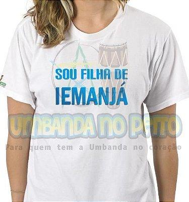 Camiseta Sou Filha de Iemanjá