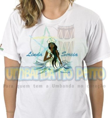 Camiseta Iemanjá Dona do Mar