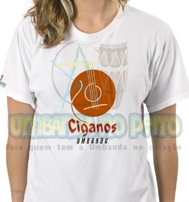 Camiseta Linha Cigana