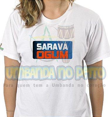 Camiseta Saravá Ogum III