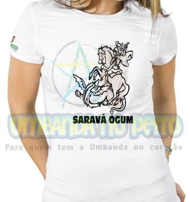 Baby Look Saravá Ogum III