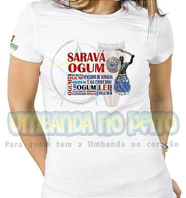 Baby Look Saravá Ogum