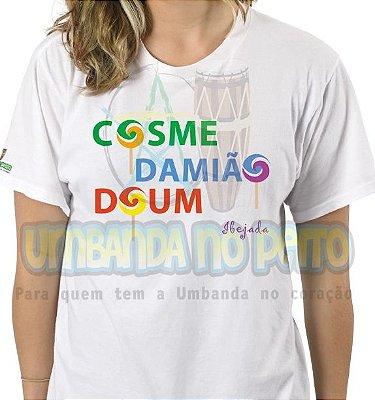 Camiseta Cosme, Damião, Doum
