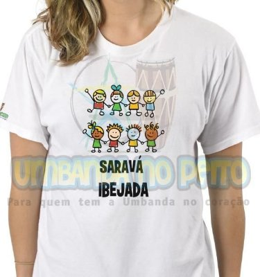 Camiseta Saravá Ibejada