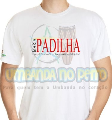 Camiseta Maria Padilha