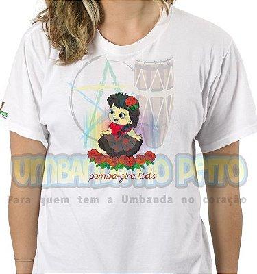 Camiseta Pomba-Gira Kids