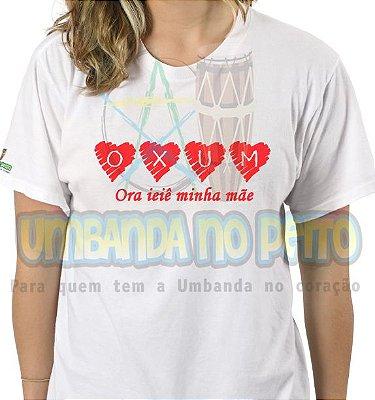 Camiseta Oxum em Coração