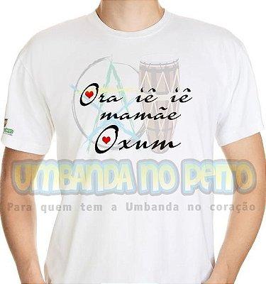 Camiseta Ora Iê Iê Mamãe Oxum