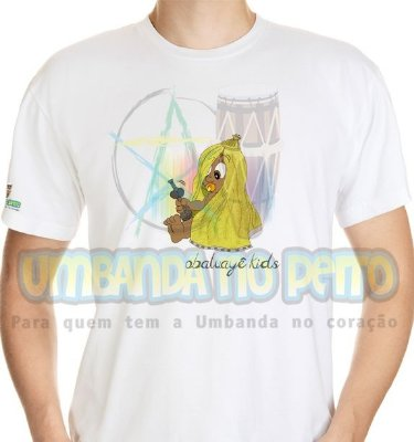 Camiseta Obaluayê Kids