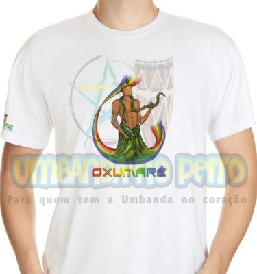 Camiseta Oxumaré Coleção Orixás