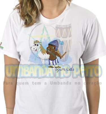 Camiseta Ogum Kids