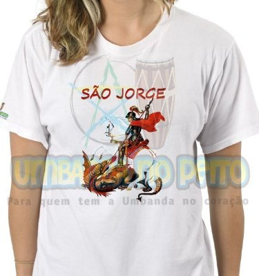 Camiseta São Jorge