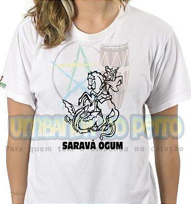Camiseta Saravá Ogum I