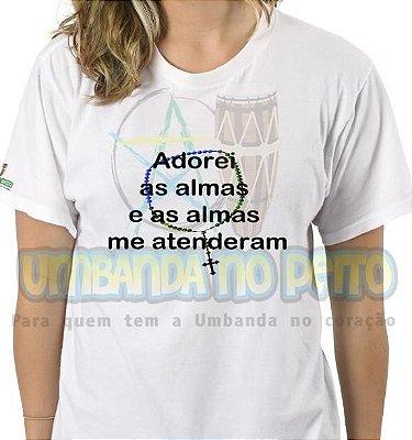 Camiseta Adorei as Almas