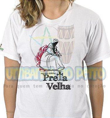 Camiseta Saravá Minha Preta-Velha