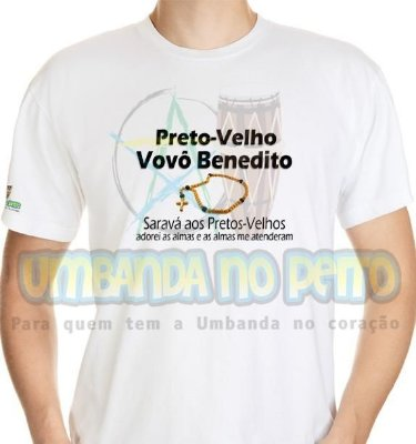 Camiseta Vovô Benedito
