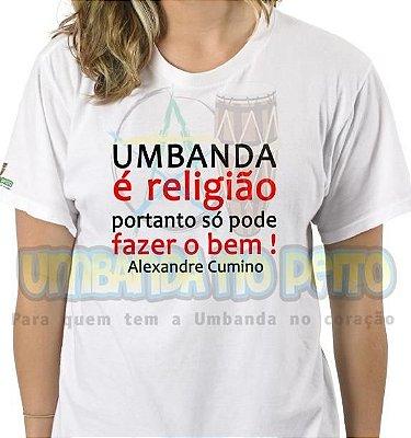 Camiseta Umbanda é Religião
