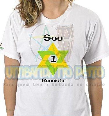 Camiseta Sou 1Bandista