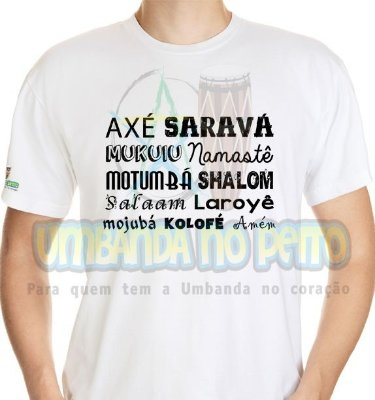 Camiseta Saudações