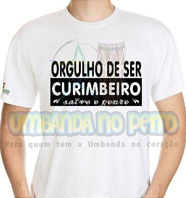 Camiseta Orgulho de Ser Curimbeiro