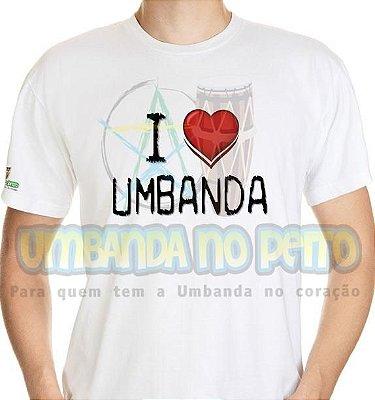 Camiseta I Love Umbanda
