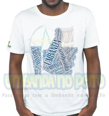 Camiseta Eu Curto Umbanda