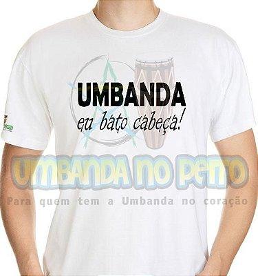 Camiseta Eu Bato Cabeça