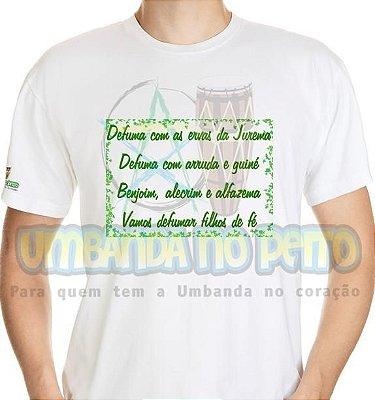 Camiseta Defuma com as Ervas da Jurema