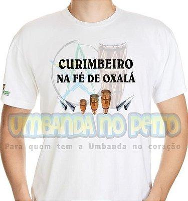 Camiseta Curimbeiro na Fé de Oxalá