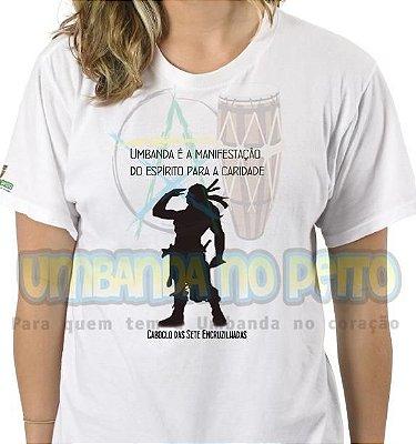 Camiseta Caboclo das Sete Encruzilhadas