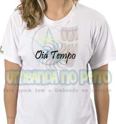 Camiseta Oiá Tempo II