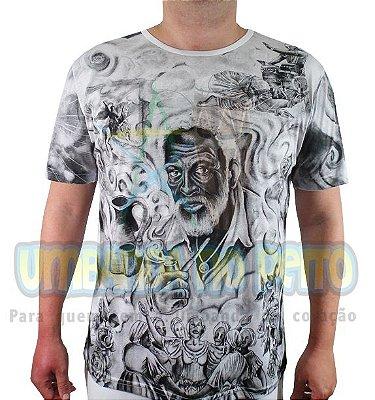Camiseta Pretos-Velhos Viscose
