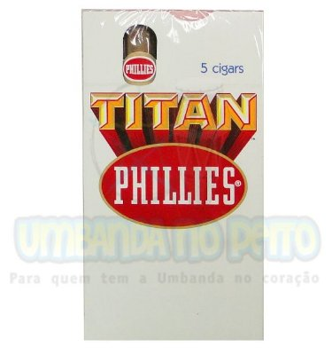 Charuto Phillies Titan Regular (caixa c/5)