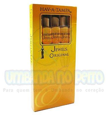 Cigarrilha Hav-A-Tampa Mild | Com Piteira de Madeira (maço c/5)
