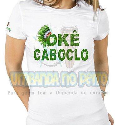 Baby Look Caboclo Cocar