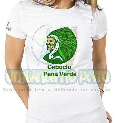 Baby Look Caboclo Pena Verde