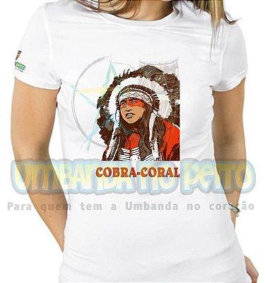 Baby Look Cobra Coral