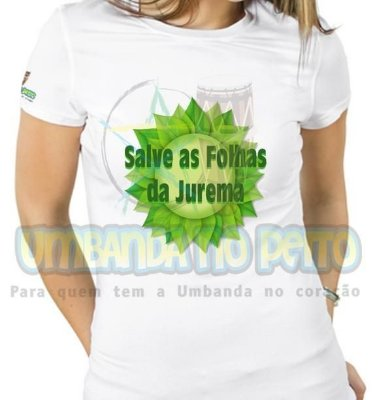 Baby Look Salve as Folhas da Jurema