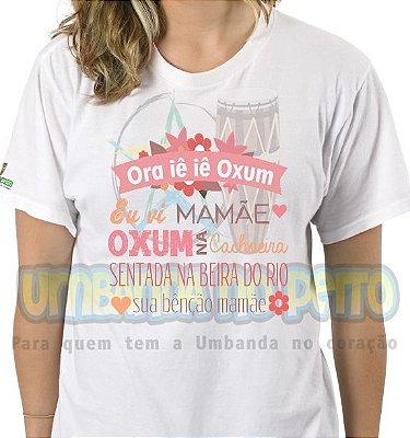 Camiseta Oxum na Cachoeira