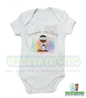 Body Oxalá Kids (menino e menina)