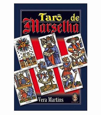 Livro Tarô de Marselha (com 22 cartas coloridas)
