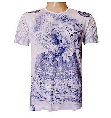 Camiseta Salve Iemanjá Viscose