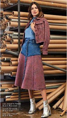 Saia Jeans Tweed