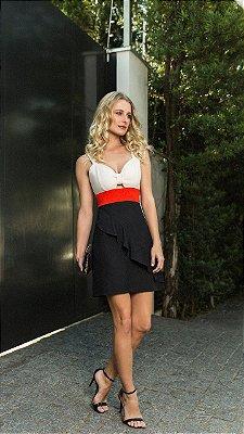 Vestido Karen Tricolor